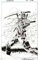 DEATHSTROKE #3 , Comic Art