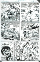 Incredible Hulk 273 pg 17 by Sal Buscema, 1982 Comic Art