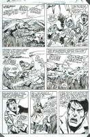 Incredible Hulk 273 pg 15 by Sal Buscema, 1982 Comic Art