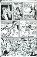 Incredible Hulk 273 pg 18 by Sal Buscema, 1982 Comic Art