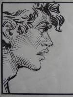 Jean Claude Forest - La Jonque Fantome Comic Art