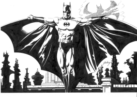 Batman - Paul Gulacy Comic Art
