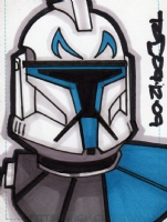 Captain Rex PSC!! Comic Art