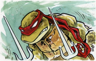 Raphael by Eric Talbot!! Comic Art