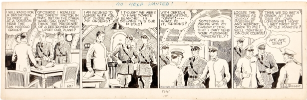 Tailspin Tommy - daily strip - #681 (dated 1930) Comic Art
