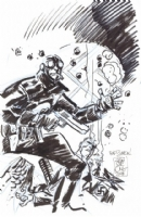 Lobster Johnson Commission Comic Art
