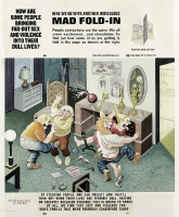 Al Jaffee MAD fold-in Comic Art