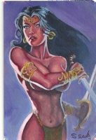 Dejah Thoris by Scott Christian Sava Comic Art