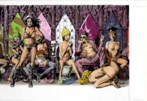John Bolton Erotica Comic Art