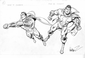 SHAZAM - MODEL SHEETS ? Comic Art
