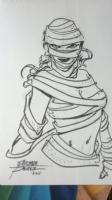 Hot Mummy by George Perez Comic Art