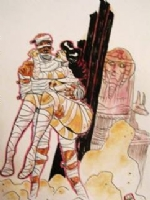 Hot Mummy by Rob Croonenborghs Comic Art