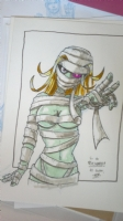 Hot Mummy by Andy Genen Comic Art