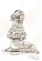 Hot Mummy by Ryan Kelly Comic Art