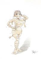 Hot Mummy by Roger Langridge Comic Art