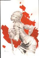 Hot Mummy by Ryan Benjamin Comic Art