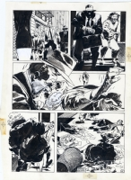 JORGE ZAFFINO-Punisher Assassin's Guild p.6 Comic Art