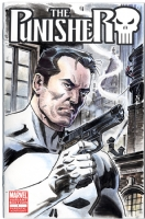PUNISHER #1 Sketch Cover art by BILL REINHOLD, Comic Art