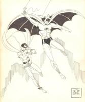 Batman and Robin Bob kane Comic Art