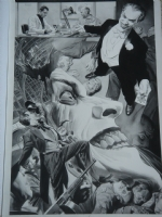 Batman Black and White # 2 Comic Art