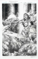 Jay Anacleto - Warlord of Mars: Dejah Thoris #35 cover Comic Art