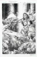 Jay Anacleto - Warlord of Mars: Dejah Thoris #35 cover Comic Art