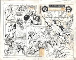 Superman Family 192 Cover Comic Art