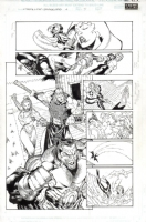 Xtreme X-Men Savage Land 4 page  7 Comic Art