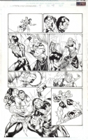 Xtreme X-Men Savage Land 4 page  8 Comic Art