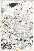 Legion of Super-Heroes 112 cover Comic Art