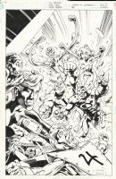 Legion of Super-Heroes 95 cover Comic Art