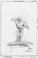 Silver Surfer: Loftier than Mortals -Marvel Remix 2 pencils Comic Art