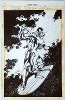 Silver Surfer 99 cover Comic Art