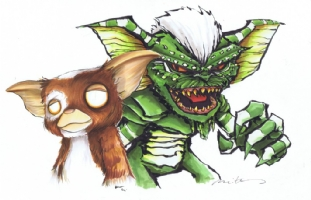 Chris Uminga Matt Fletcher Gremlins Jam Comic Art