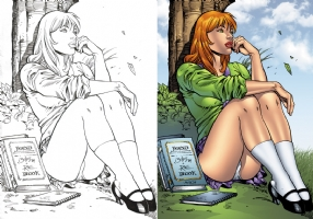 Fairchild from Gen13 Comic Art