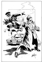 Green Hornet and Kato Comic Art