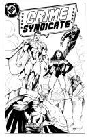 Crime Syndicate by MC Wyman Comic Art