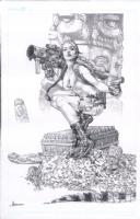 Lara Croft by Jay Anacleto Comic Art