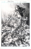 Dejah Thoris and The Green Men of Mars issue 7 Comic Art
