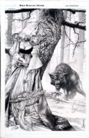 Red Riding Hood by Jay Anacleto Comic Art