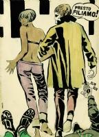 023 GUIDO CREPAX Valentina - Presto filiamo! Comic Art