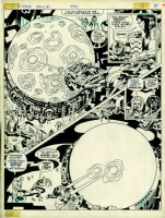 163 JACK KIRBY (1917-1994) The Hunger Dogs Comic Art