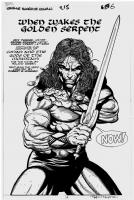Savage Sword of Conan #215 page 6 Comic Art