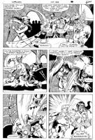 Warlord #102 page 16 Comic Art