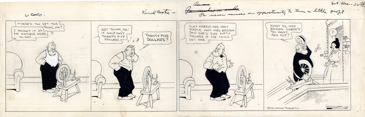 Kernel Cootie (the) - Orr Carey Cassius - 1921  Comic Art