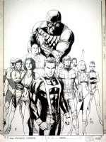 Squadron Supreme 1 by Gary Frank Comic Art
