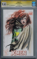 X-Men #1 CGC SS: Hope Summers - Gerald Parel  Comic Art