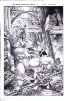 Red Sonja Vulture's Circle 2 Comic Art