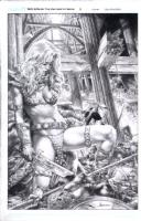 Red Sonja Vulture's Circle 2 Comic Art