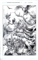 Red Sonja Vulture's Circle 1 Comic Art